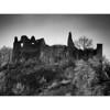 Ruines du château de Montaigle, Wallonie, Namur