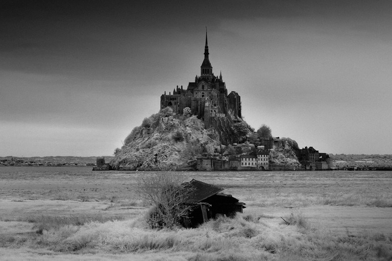 Mont St-Michel, Normandie