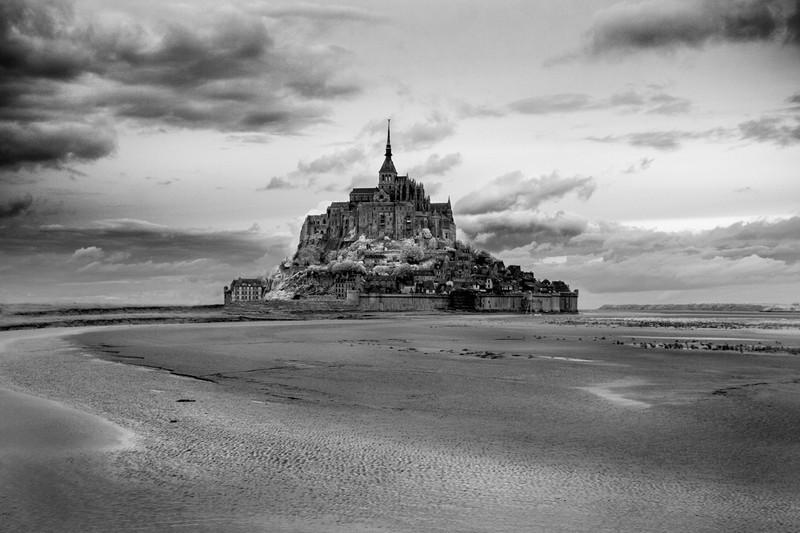 Mont St-Michel, Normandie