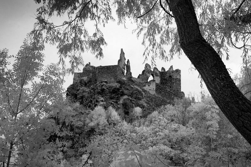 Château d'Usson, Ariège