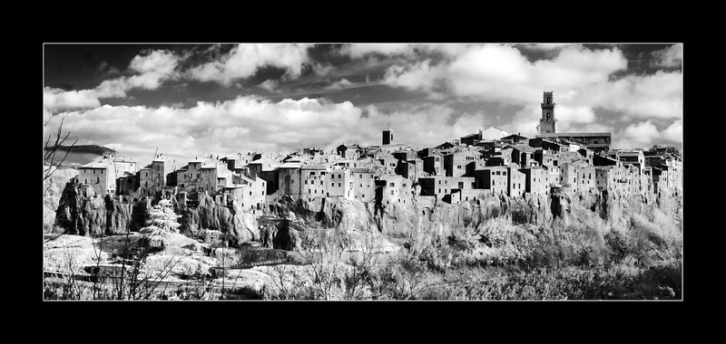 Village of Pitigliano, Toscany