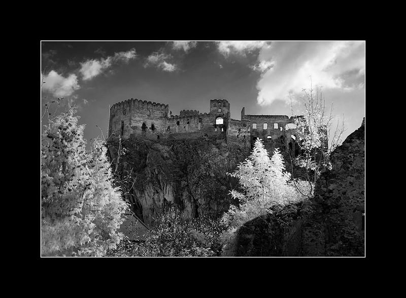 Beckov castle, Trencin, Slovakia