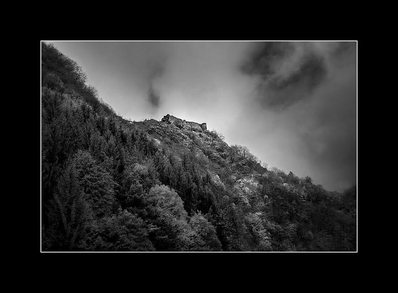 Poenari castle, Arefu, Arges, Romania