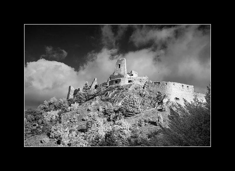 Cachtice castle, Trencin, Slovakia.