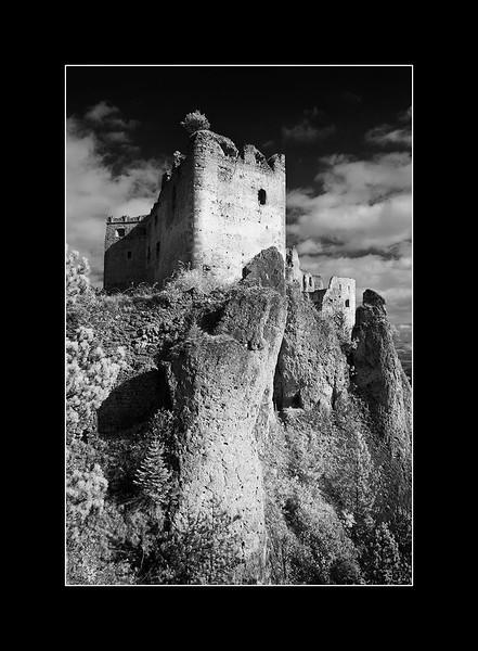 Lietava castle , Zilina, Slovakia