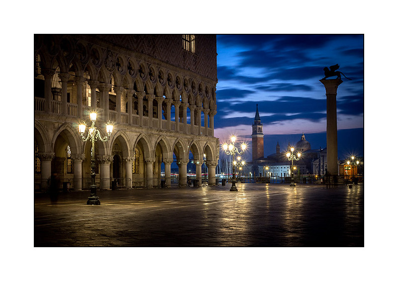 Piazza San Marco at night