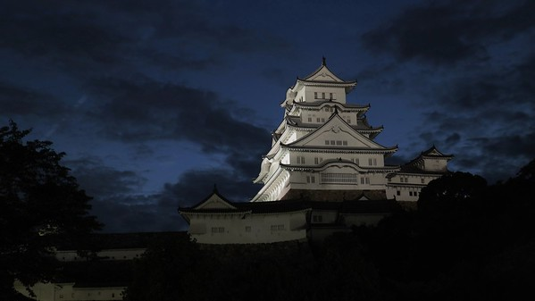 Himeji Castle Blue Hour