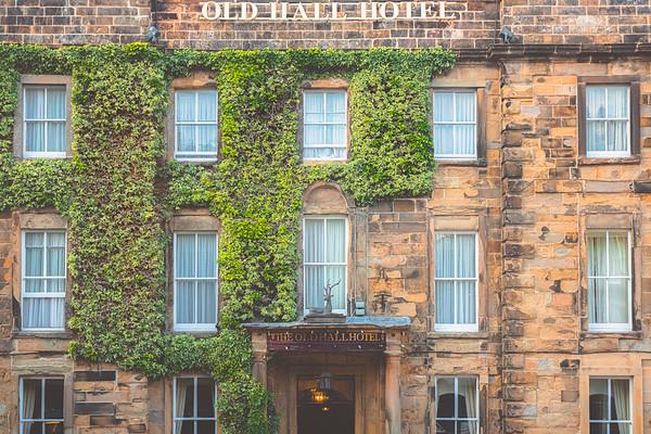 Old Hall Hotel. Buxton, England