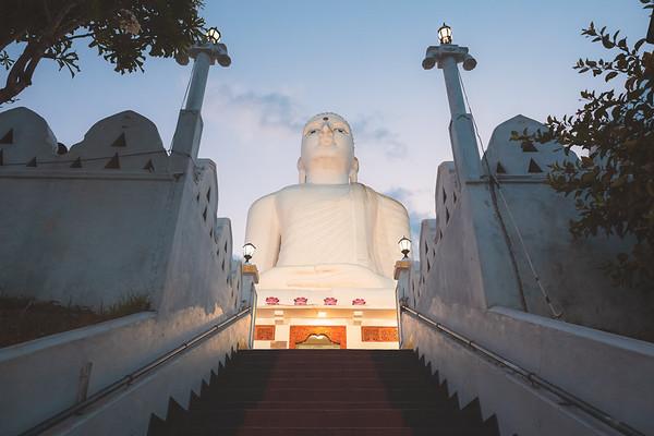 Sri Maha Bodhi Viharaya. Kandy, Sri Lanka