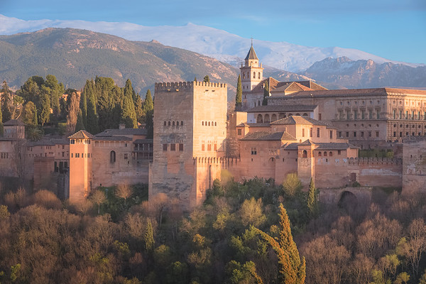 View of the Alhambra. Granada, Spain