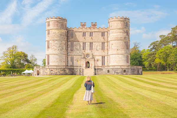 Lulworth Castle. Dorset, England