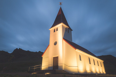 Vik Chapel. Vik, Iceland