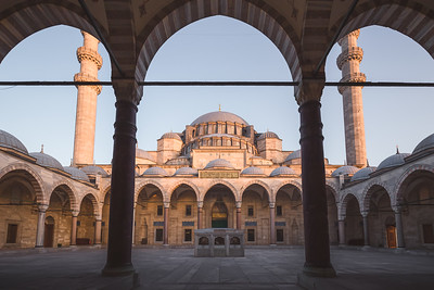 Suleymaniye Mosque. Istanbul, Turkey