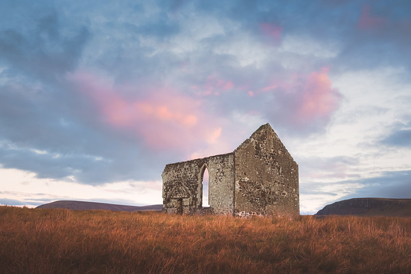 Kilmuir Church Ruins. Isle of Skye, Scotland