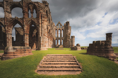 Whitby Abbey, Yorkshire, England.