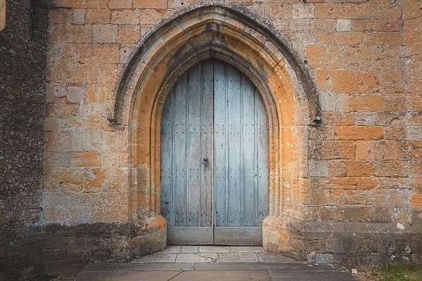 Old Church Door, Chipping Campden