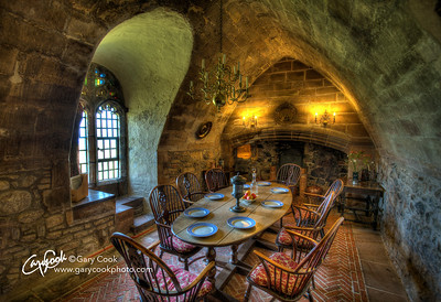 Lindisfarne Castle Dining Room.