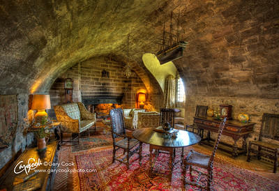 Lindisfarne Castle Drawing Room.