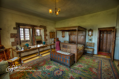 Lindisfarne Castle Bedroom