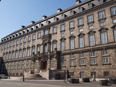 Christiansborg. Photo: Martin Bager.