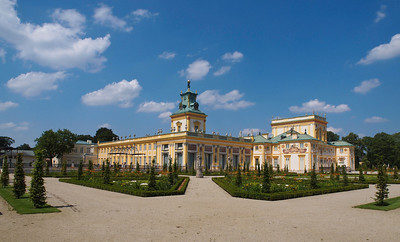 Wilanow Castle in Warszawa. Photo: Martin Bager.