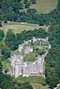 Arundle Castle from the air.