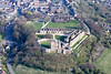 Aerial photo of Bolsover Castle-111