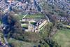 Aerial photo of Bolsover Castle-110