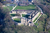 Aerial photo of Bolsover Castle-109