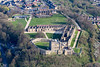 Aerial photo of Bolsover Castle-106