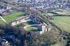 Aerial photo of Bolsover Castle-105