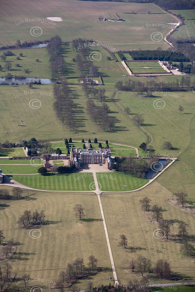 Burton Constable from the air.