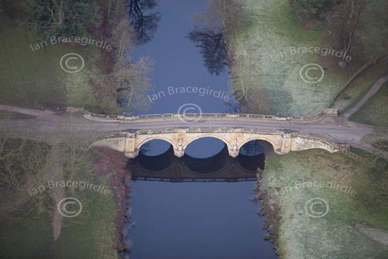 Bridge over the Derwent.