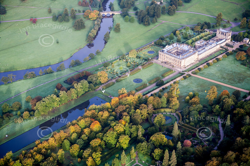 Aerial photo of Chatsworth House-1