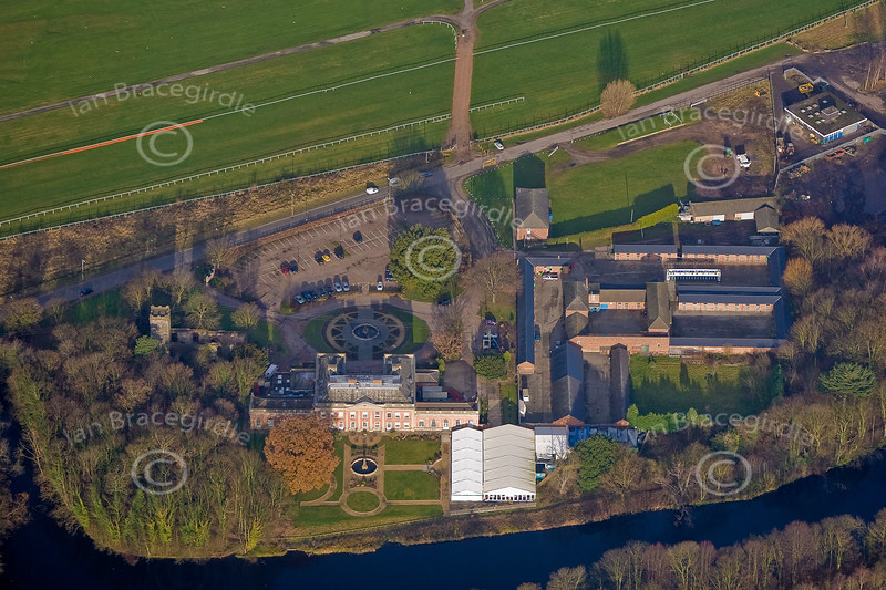 Aerial photo of Colwick Hall-2