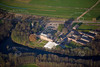 Aerial photo of Colwick Hall Hotel.