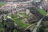 Aerial photo of Conisborough Castle-1