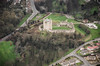 Aerial photo of Conisborough Castle-2