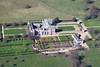 Aerial photo of Grimsthorpe Castle.