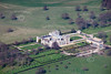 Aerial photo of Grimsthorpe Castle.