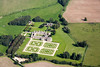 Kirby Hall from the air.
