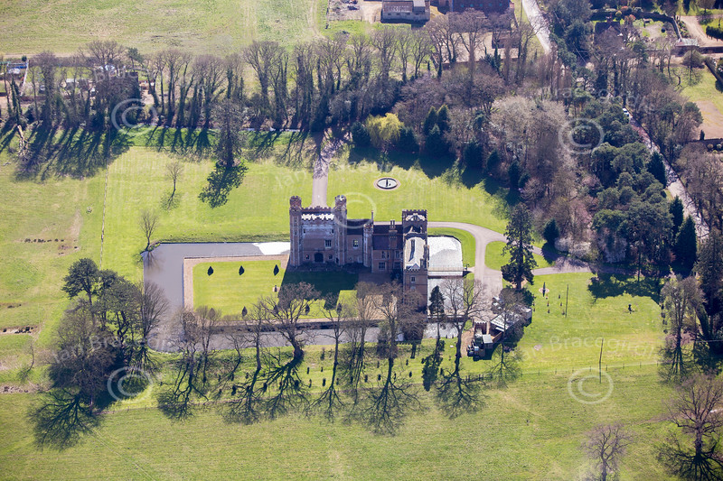 Aerial photo of Middleton Tower.