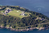 Aerial photo of Pendennis Castle in Falmouth.