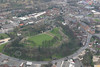 Aerial photo of Pontefract Castle-2