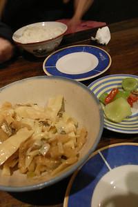 滷筍絲&涼拌菜心@小隱私廚