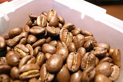 最近新買的咖啡豆--黃金爪哇