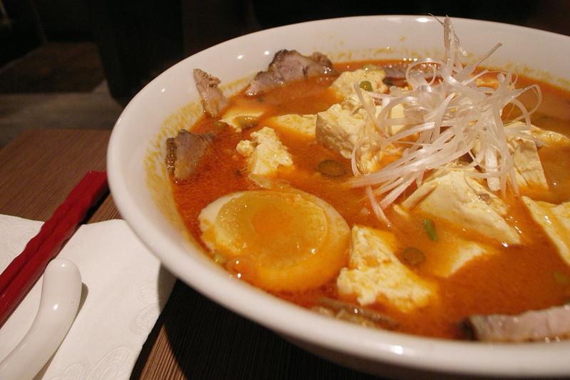 赤鬼豆腐拉麵