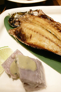 竹莢魚一夜干