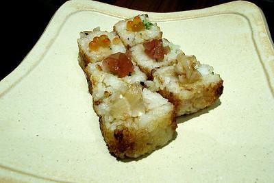 洋風的三色壽司