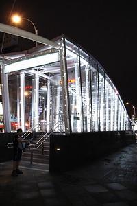 高捷正式通車前夕@美麗島站入口